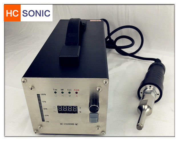28 Khz Ultrasonic Welding Equipment / Ultrasonic Welding Pencil With Digital Generator