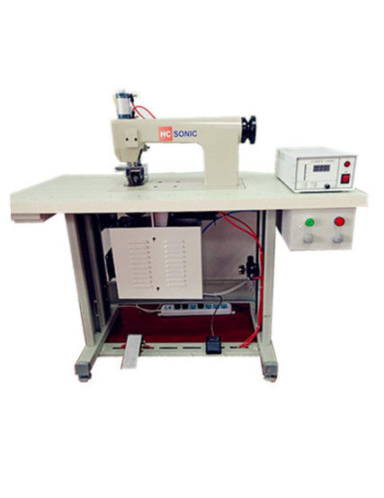 High Speed Ultrasonic Sealing Equipment , Lace Sewing Machine 20 Khz