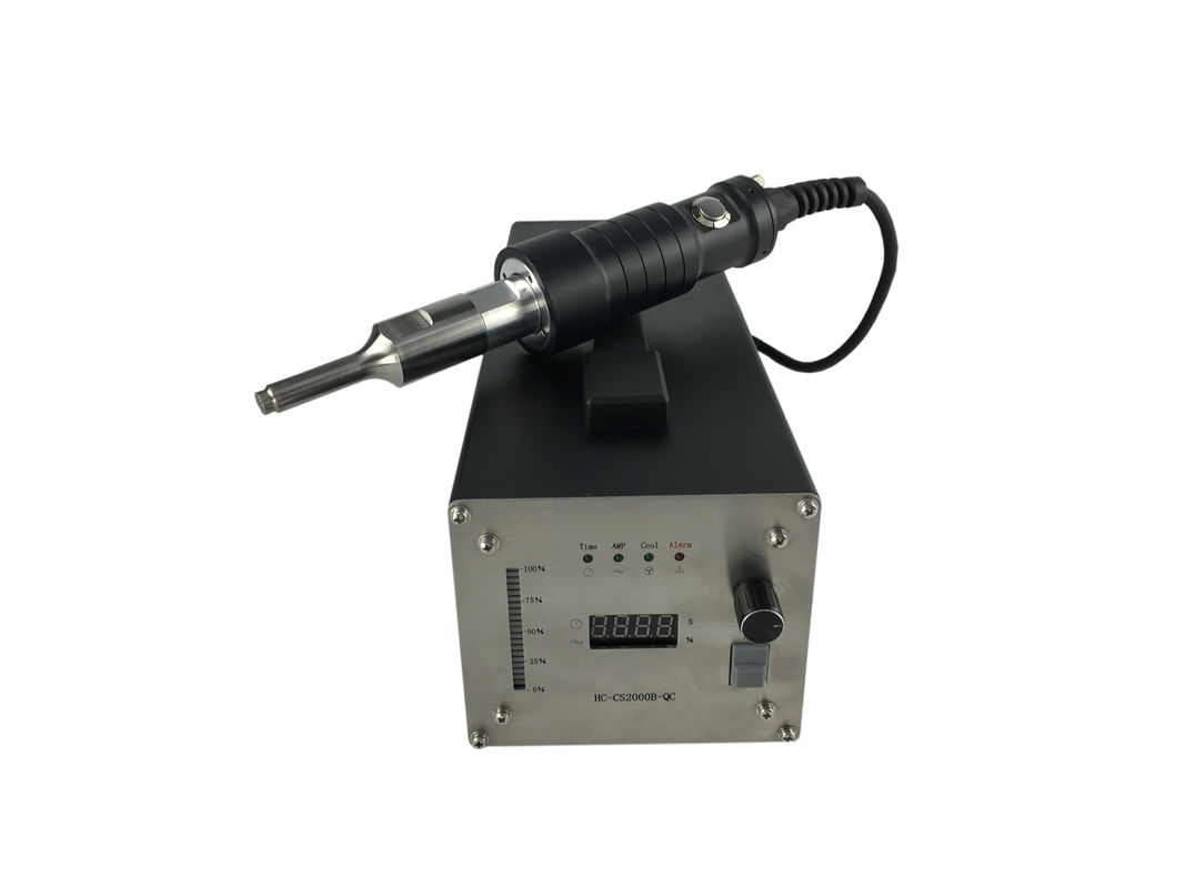 35Khz Small Size Handheld Ultrasonic Welder With PP Pencil HC-W35-600